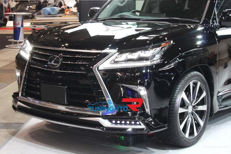 Тюнинг лексус лх 570 2016 года новая модель
